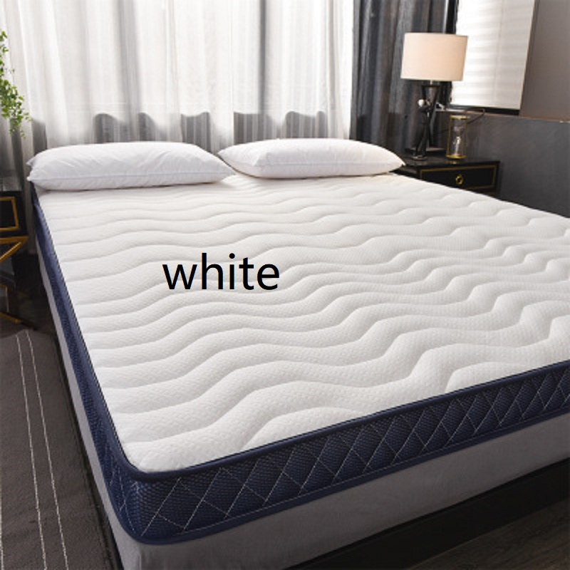 super comfortable latex sponge filling Mattress Slow rebound Tatami Cotton Mattress Cover Bedspreads King Queen Twin Full Size