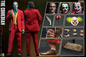 TOYS ERA Figure Phoenix Sculpt Clown The Joker Comedian W/3pcs-Head PE004 Full-Set Jacques