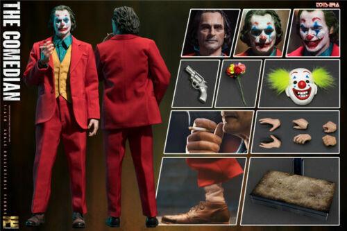 SPIELZEUG ÄRA PE004 1/6 Die Joker Clown Komiker Jacques Phoenix W/3 stücke Kopf Sculpt Volle set Abbildung