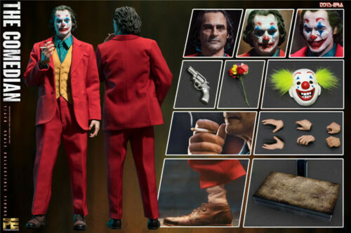 TOYS ERA PE004 1/6 The Joker Clown Comedian Jacques Phoenix W/ 3pcs Head Sculpt Full Set Figure