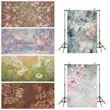 Laeacco Baby Shower Backdrops Flowers Blooming Trees Newborn Kids Photography Backgrounds Pregnant Children Portrait Photophone