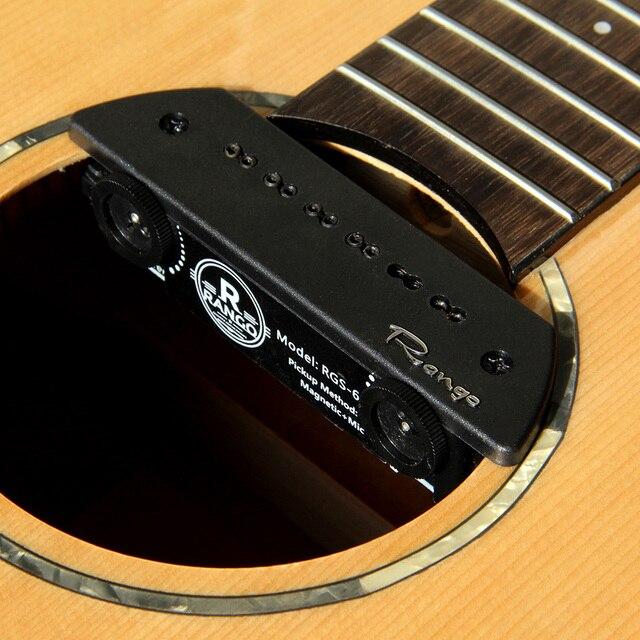 2020 قطع غيار جيتار صوتي من RANGO لاقط مغناطيسي لاقط للجيتار ملحقات جيتار