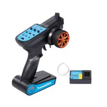2.4G 3CH RC Transmitter Digital Radio Remote Control Transmitter with Receiver R9UE jumper t lite open tx game sharp multi protocol transmitter hall sensor gimbals single rf cc2500 jp4in1 remote control for rc