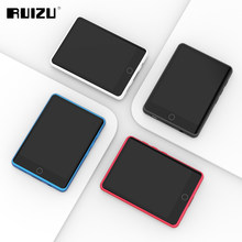RUIZU M6 w pełni dotykowy ekran Bluetooth odtwarzacz MP3 8GB/16GB przenośny odtwarzacz muzyki audio z głośnikiem FM Ebook Recorder odtwarzacz wideo