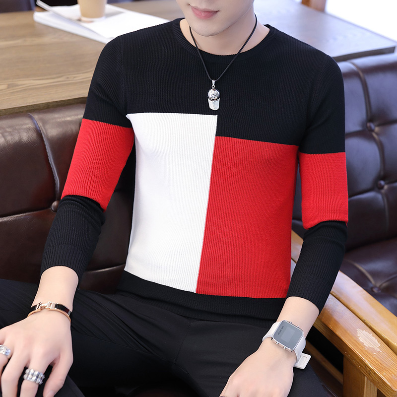 2019 Winter New Arrivals Thick Warm Sweaters O-Neck Wool Sweater Men Brand Clothing Knitted Cashmere Pullover Men M-2xl