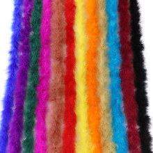 Turkey Marabou Feather Boa Decoration for Party Wedding Clothes Evening Dress Shawl Crafts Plumes Diy Jewelry Accessory 13 g