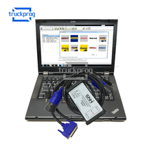 TruckProg CNH Kit with T420 Laptop for New Holland Agriculture Equipment Diagnosis Scanner EST Electronic Service Tool