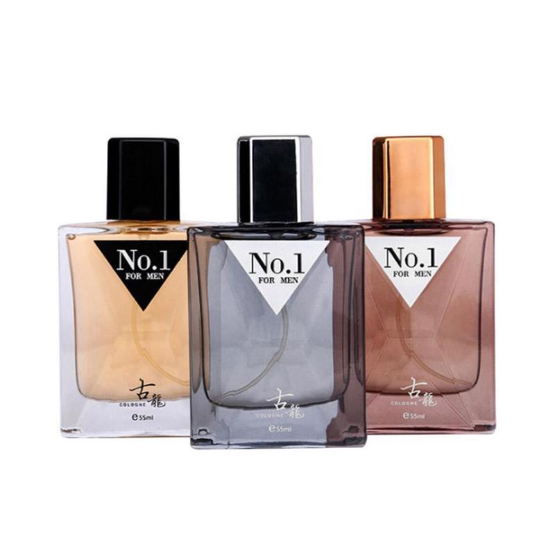 55ml Men Gulong Perfume Classic Smell Fragrance Long Lasting Parfum Anti Odor Male Perfum Spray Glass Bottle Body Deodorization