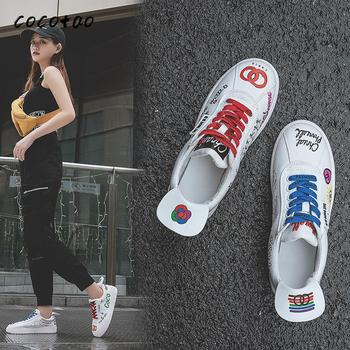 little white shoes 2020 new women s shoes korean version of the trend of wild breathable sports casual shoes spring and autumn Little White Shoes 2020 New Women's Shoes Korean Version Of The Trend Of Wild Breathable Sports Casual Shoes Spring And Autumn