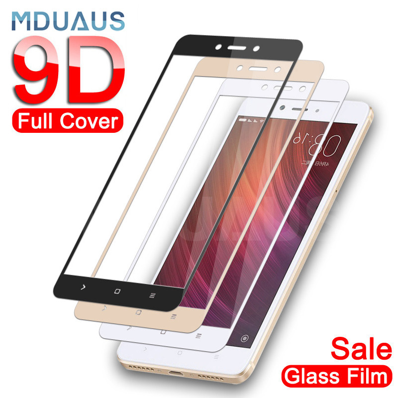 <font><b>9D</b></font> Protective Glass on the For <font><b>Xiaomi</b></font> <font><b>Redmi</b></font> 5 Plus S2 <font><b>4X</b></font> 5A Screen Protector For <font><b>Redmi</b></font> Note 4 <font><b>4X</b></font> 5 5A Pro Tempered Glass Film image