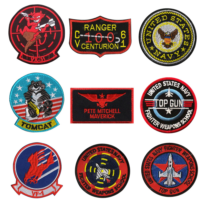 3D Military Tactical Army Embroidery Morale Sew Patch Badge Armbands Patch HOT