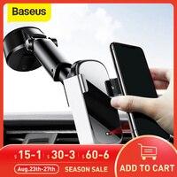 Baseus 10W Drahtlose Auto Ladegerät Für iPhone 11 Pro Max Induktion Schnelle Drahtlose Lade Auto Telefon Halter Halterung Für xiaomi