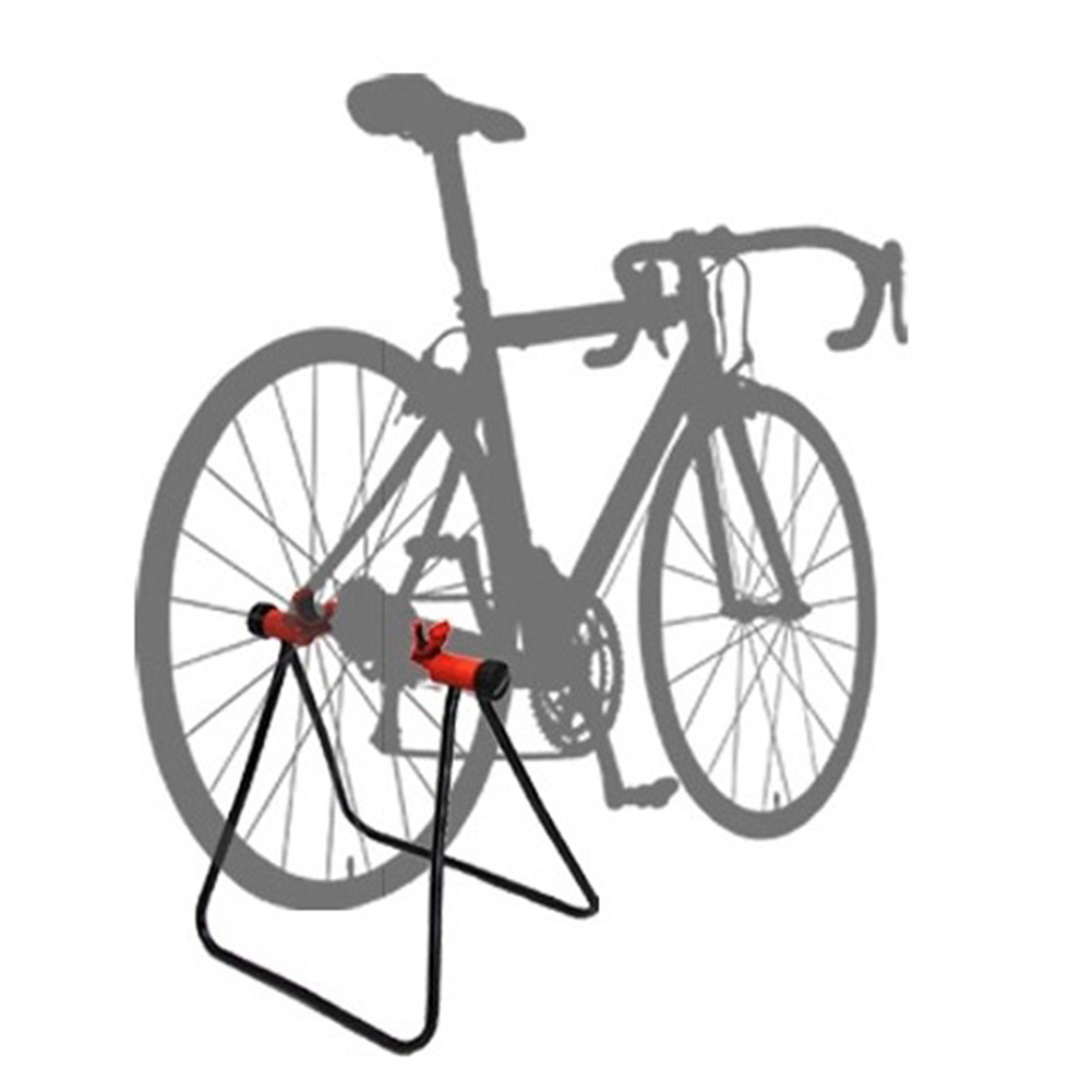 Pro Road MTB Bike Triangle Floor Parking Stand Holder Rear Hub Storage Rack Hold