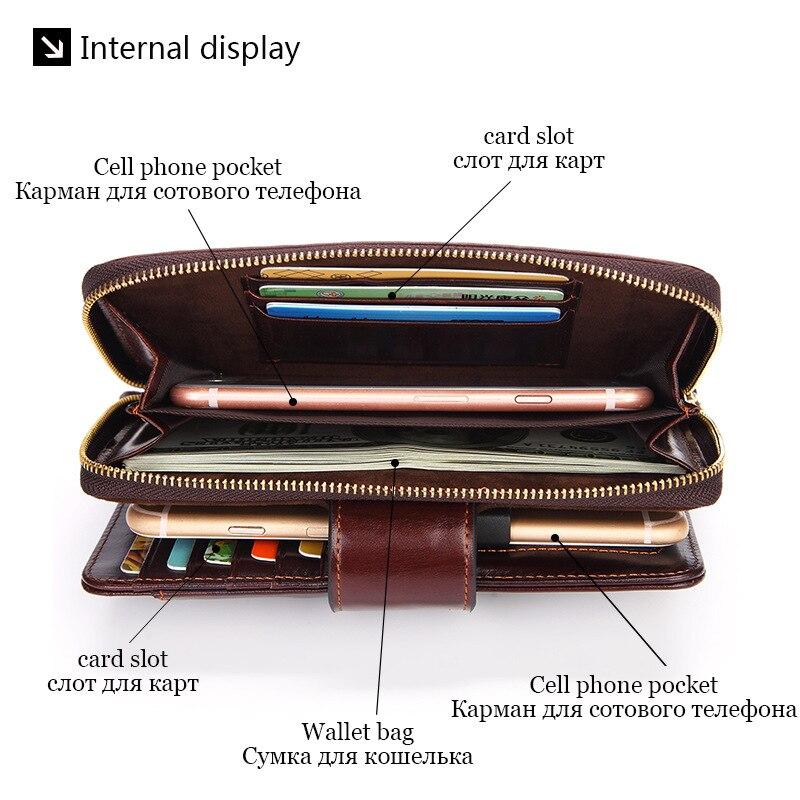 bolsa de embreagem de negócios viagem masculina