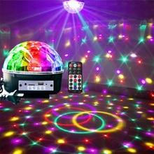 Lumino Party Disco Multi Color Lights Ball LED Stage Club DJ Декор С Пульт