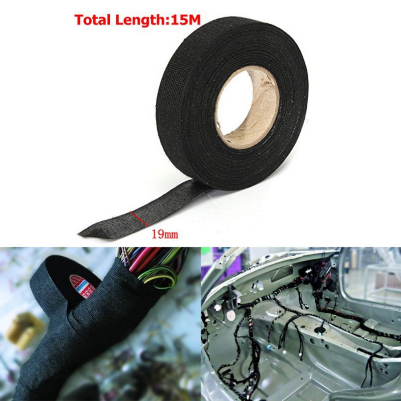 Car Wire Harness Tape Insulation Electrical Tape High Temperature Resistance  Automotive Corrosion Resistan Flannel Tape