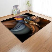 Яркий 3d трехмерные красочные красивые Гостиная коврик для кухни