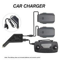 Para mavic pro 3 em 1 carro carregador de bateria de controle remoto adaptador carregador ao ar livre com porta usb zangão acessórios|Carregadores de bateria p/ drone|   -