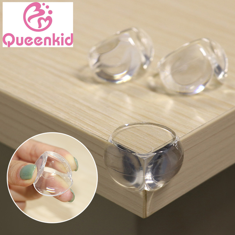 5/8/10Pcs Child Baby Safety Silicone Protector Table Corner Edge Protection Cover Children Anticollision Edge & Guards