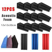 Acoustic Corner-Bass-Traps Studios-Recording 12pcs Blocks Column Sound-Absorption-Panels