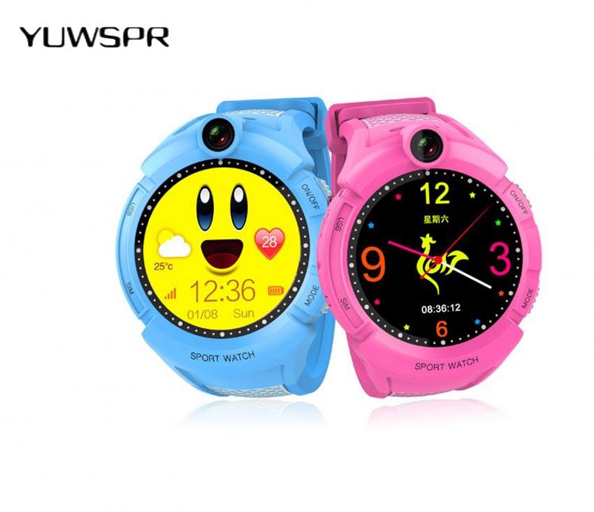 Kids Tracker Watches GPS Tracking Anti-Lost Monitor Flashlighter SOS Call Watch Children Wristband Smart Clock Q610S