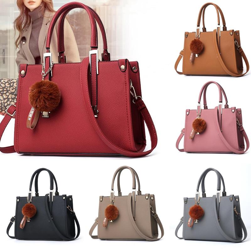 LKEEP Mini Boston Shoulder Bag Women Leather Long Handbags Female Crossbody Messenger Bag Bolsa Sac Fashion Ladies Small Tote 1