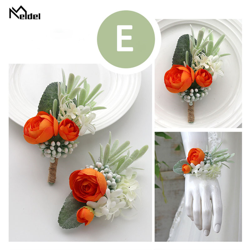 wedding accessories wrist corsage bracelet boutonniere (7)