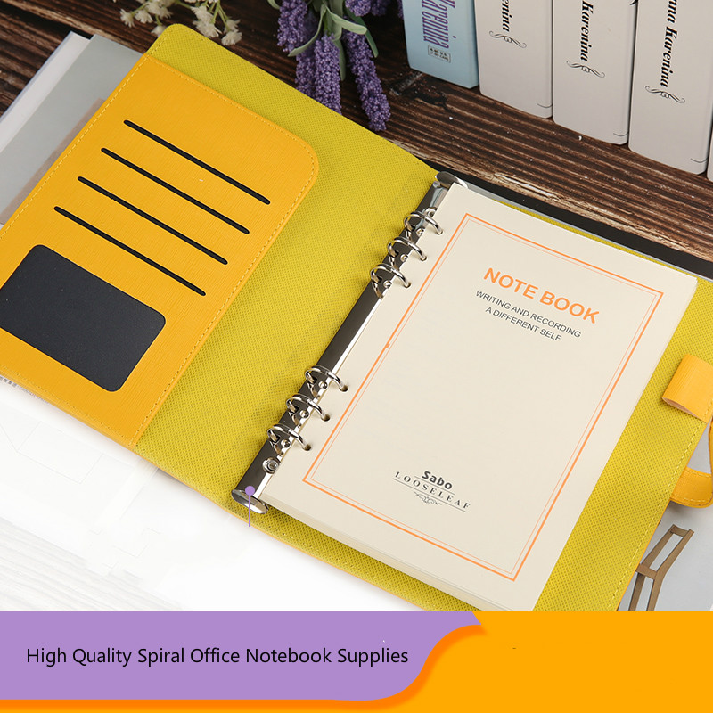 High Quality A5 Agenda 2020 Planner Organizer Office Spiral Diary Notebook Travel Journal Loose-leaf Filofax Stationery Supplies