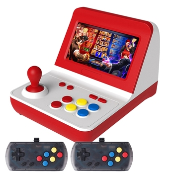 Mini Arcade Game Retro Machines for Kids with 8000 Classic Video Games Home Travel Portable Gaming System Childrens Tiny Toys