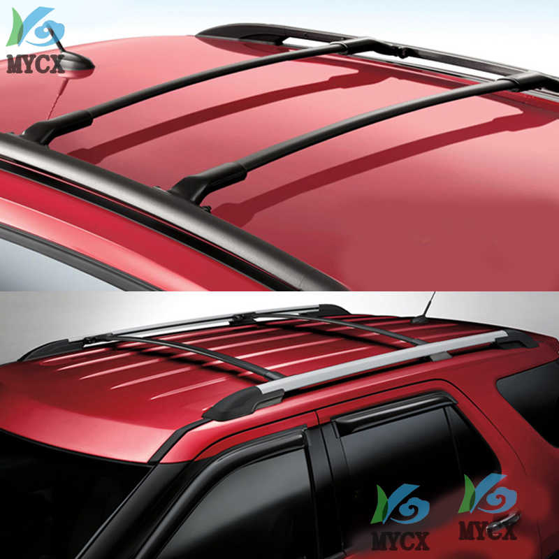 new arrival roof rack roof rail cross bar for ford explorer 2016 2017 2018 2019 oe style quality is normal high cost performance