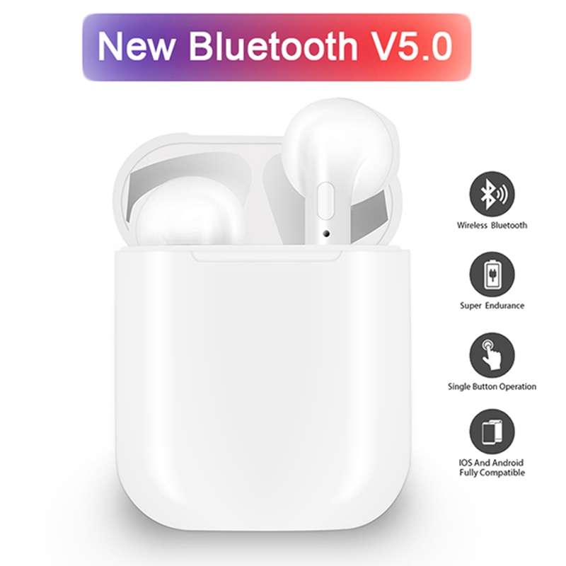 i9 i9s TWS Wireless Bluetooth earphone Wireless Headsets Earbuds Bluetooth 5.0 For xiaomi iPhone earphones PK i7 i7s tws
