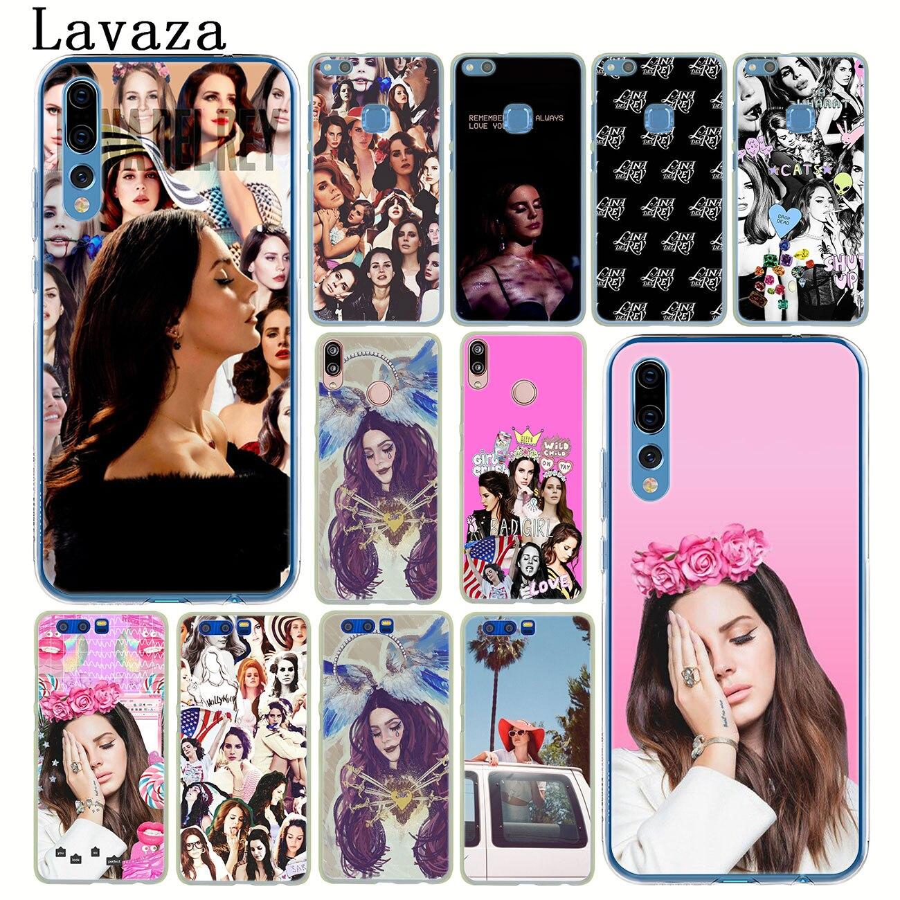 Lavaza Lana Del Rey LDR funda Del teléfono para Huawei P30 P20 Pro P10 P9 más P8 Lite 2016 Mini 2017 P smart Z 2019 cubierta
