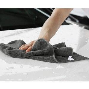 Image 2 - Myjnia samochodowa Toalla Microfibra ręcznik ściereczka do wycierania absorpcja wody pogrubienie ręcznik z mikrofibry Nettoyage Voiture Auto Cleaning Tools