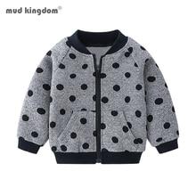 Boys Jackets Winter Outerwear Coats Kids Long-Sleeve Print Autumn Fashion Warm Mudkingdom