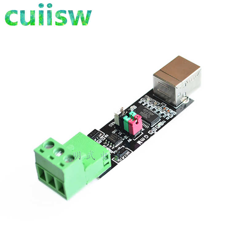 HUIMAI USB 2.0 to TTL RS485 Serial Converter Adapter FTDI Module FT232RL SN75176 double function double for protection Top Sale