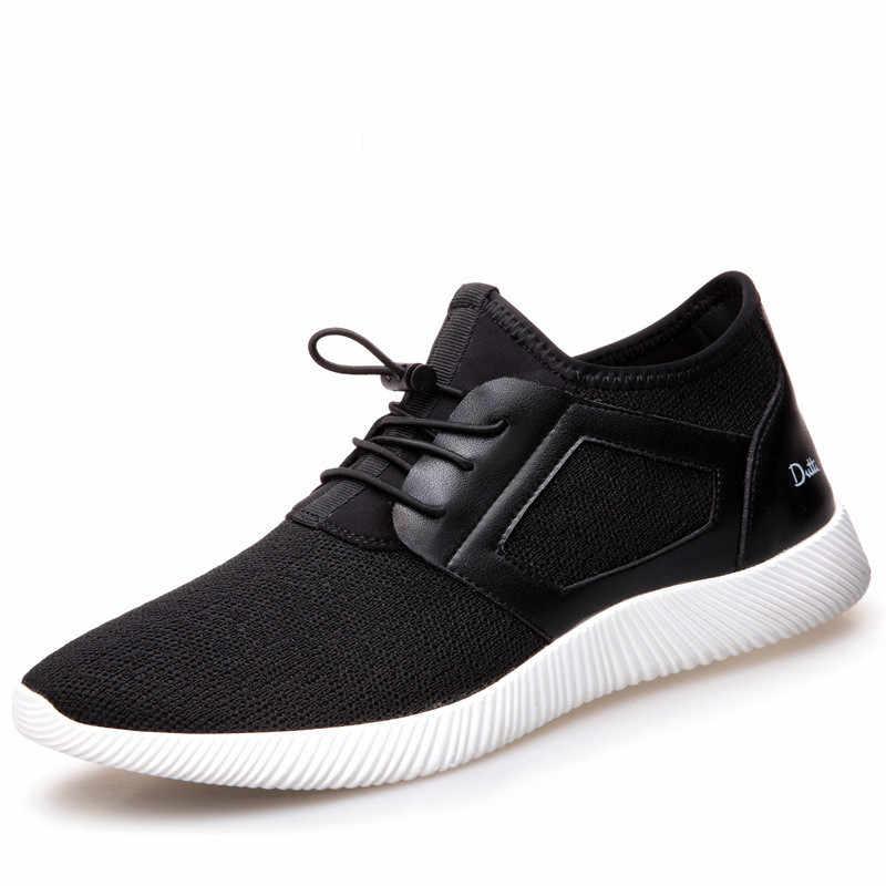 Ayakkabı Erkekler koşu ayakkabıları Nefes Örgü Erkekler Açık Spor Rahat Fltness Ayakkabı Klasik Yüksek Kaliteli erkek ayakkabıları 0911