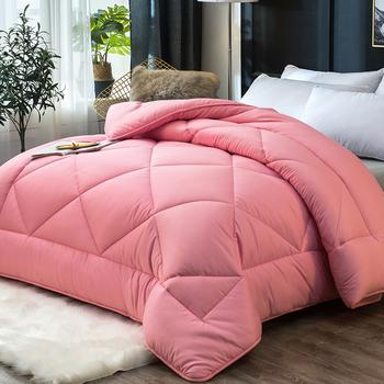 Tanie i wygodne kołdra AB side patchwork pocieszyciel wysokiej jakości zagęścić zima pocieszyciel gorąca sprzedaży bardzo ciepłe łóżko kołdra CF tanie i dobre opinie DSFHSFH