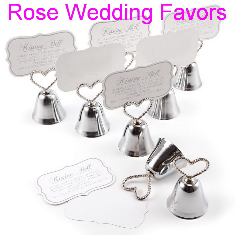 (50pcs/lot)FREE SHIPPING Christmas Party Favor Kissing Bell Place