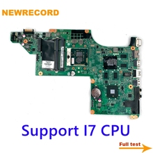Laptop Motherboard NEWRECORD for HP DV6-3000 HD5650 1GB-SUPPORT I7-Only Fully-Tesed DA0LX6MB6H1