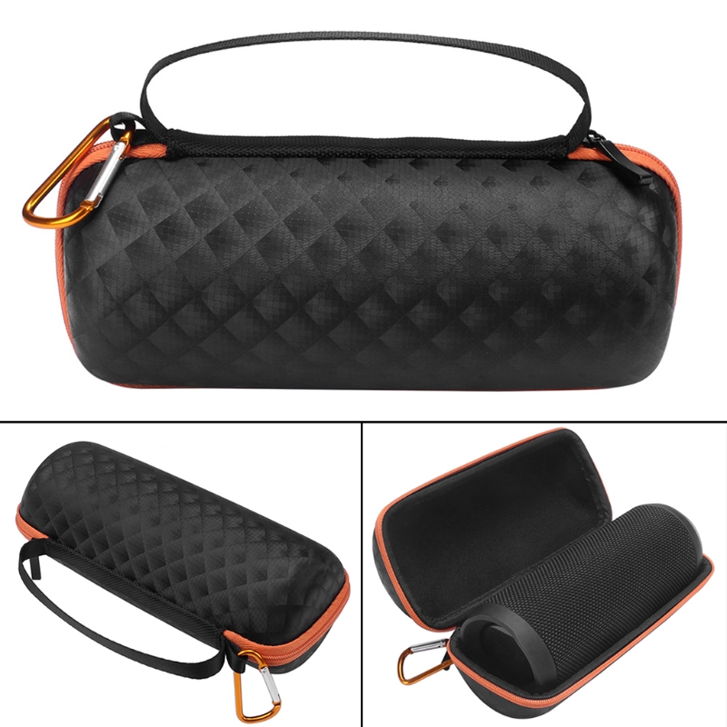 EVA Travel Carrying Zipper Box Protective Bag For JBL Flip3/4 Bluetooth Speaker