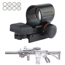 Tactical Holographic Red Dot Sight For M4 A1 Rifle Rail Riflescope Hunting Accessories Optics Reflex 4 Reticle Scope Collimator цены онлайн
