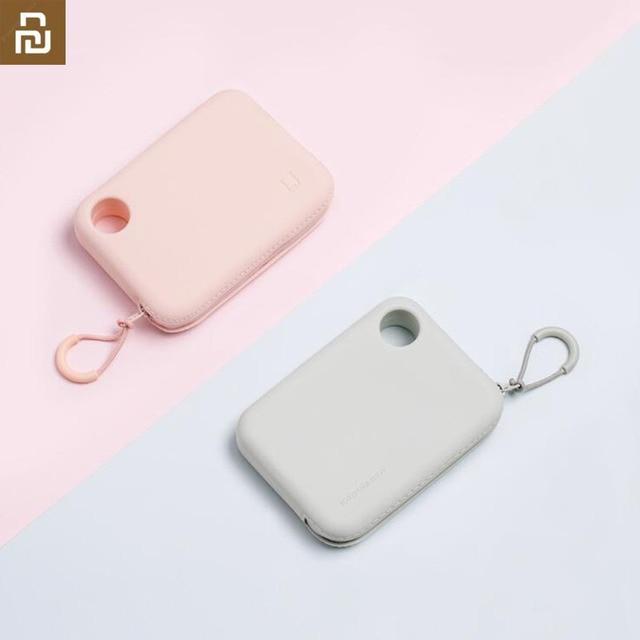 Xiaomi Jordanjudy przenośne silikonowe miękkie etui wodoodporny organizer torby do przechowywania torba na ładowarka kablowa klucze usta słuchawki telefon