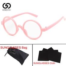 Retro Classic Children Sunglasses Girls Boys Round Frame Coating Mirror Colorful Eyewear3