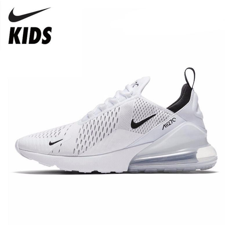 €50.44 64% de réduction|NIKE AIR MAX 270 Original nouveauté enfants chaussures de course Sports de plein Air AIR maille baskets #943345 in Chaussures