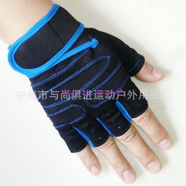 Gym-Gloves Dumbbell-Weight Weightlifting Half-Finger Breathable Sports Dhl by Ems 200pair