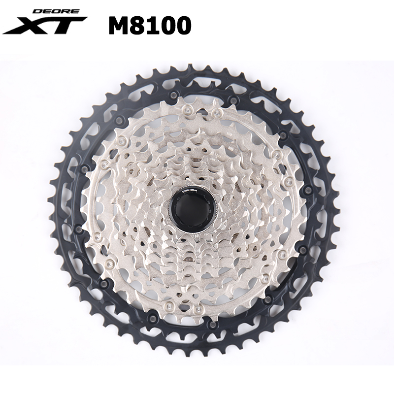 NEW Shimano XT CS M8100 Cassette Sprocket 12 Speed 10-51T MTB Bike Freewheel New MICRO SPLINE Freehub Body