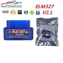 Супер Мини bluetooth сканер elm327 v21 автомобильный Автомобильный