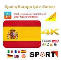 Iptv para España español España M3u Abonnement Iptv Reino Unido Italia Spaans Francia, Alemania, Portugal, Voor Android caja de Enigma2 m3u SmartTV dazn
