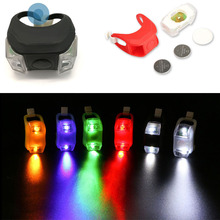 Multi Color Bicycle Taillight Highly Elastic Silicone Bike Tail light Waterproof 3 Modes Rear Light Safety Warning