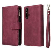 Nova5t Zipper Brieftasche Multifunktions Fall für Huawei Nova 5 T Fall Nova T5 5i Pro 6SE 7i Flip Abdeckung Funda huawei Nova 5 T Fall Haut